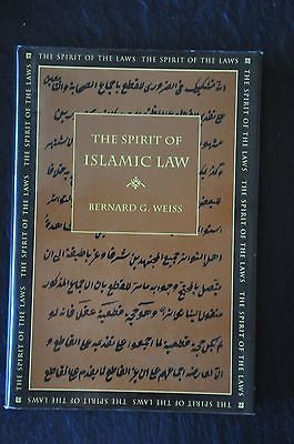 The Spirit of Islamic Law by Bernard G. Weiss (1998, Hardcover)