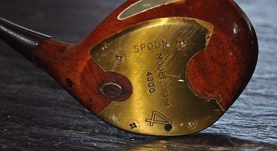 Denny Shute Personal Model 4 Wood Spoon Golf Club