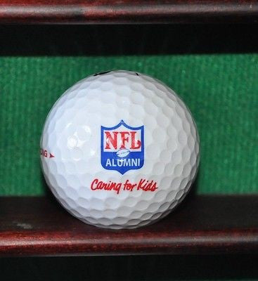 NFL Alumni Caring for Kids logo golf ball. Nike.