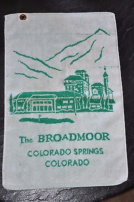 The Broadmoor Colorado Springs Resort Golf Towel