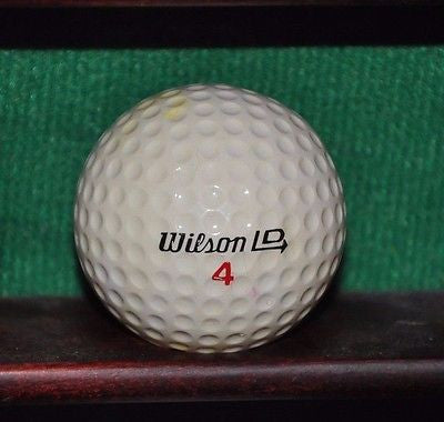 Vintage Wilson LD golf ball.