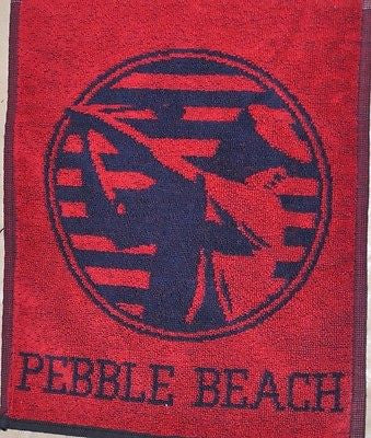 1992 US Open Golf Tournament Pebble Beach Banner Towel 43 x 11 Inches