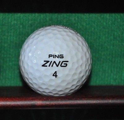 Ping Zing Ping Promotional Karsten Golf ball.