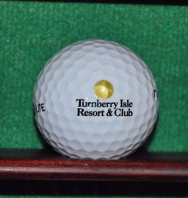Turnberry Isle Resort & Club Golf Miami Florida logo golf ball