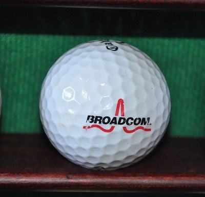 Broadcom semiconductor corporation logo golf ball. Callaway.