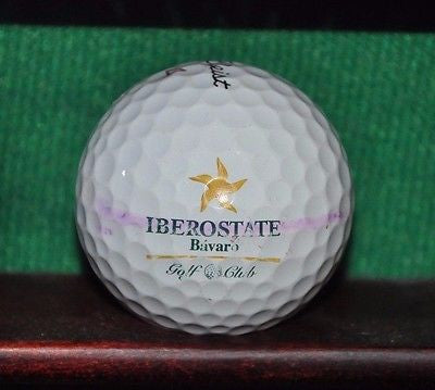 Iberostate Bavaro Golf Club Punta Cana Dominican Republic logo ball Titleist PV1