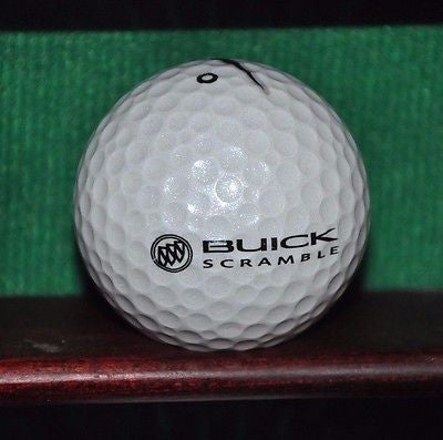 Buick Scramble Golf Tournament logo golf ball. Nike.