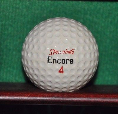Vintage Spalding Encore Golf Ball. Excellent Condition.