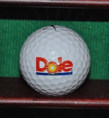 Dole Pineapple logo golf ball. Nike.