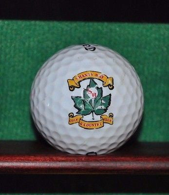 Shanty Bay Golf & Country Club Ontario Canada Logo Golf Ball Callaway