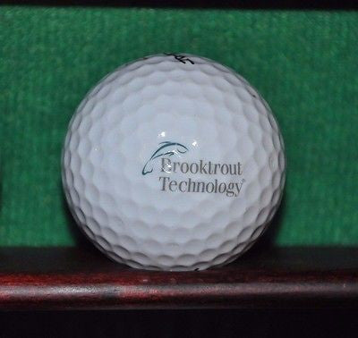 Brooktrout Technology Logo Golf Ball. Titleist Excellent Condition.