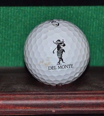 Del Monte Country Club at Pebble Beach logo golf ball. Callaway Tour