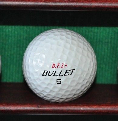 DFS   Bullet Golf Ball. Vintage Ball.