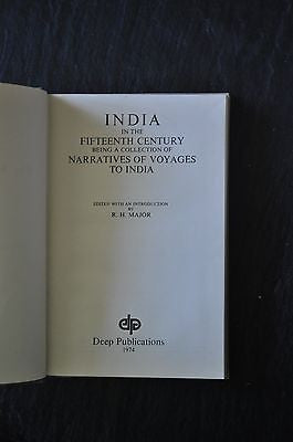 India in the Fifteenth Century by Major, Richard Henry HC