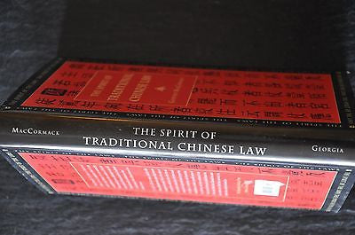 The Spirit of Traditional Chinese Law by Geoffrey MacCormack (1996, Hardcover)