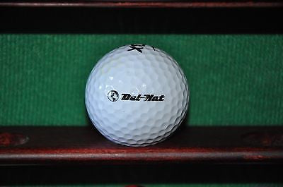 Del Nat Tire Company Logo Golf Ball. Nike.