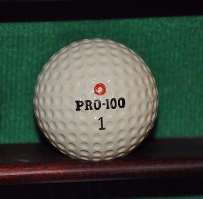 Vintage PRO - 100 Golf Ball. Surlyn Cover.