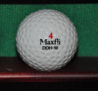 Vintage Maxfli Tour Ltd. logo golf ball.