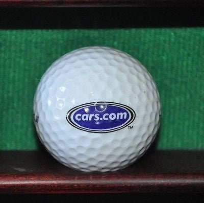 Cars.com company logo golf ball.