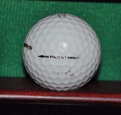 Indianwood Golf and Country Club Michigan logo golf ball. Titleist Pro V1