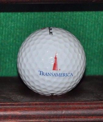 Transamerica Corporation San Francisco logo golf ball. Excellent Condition