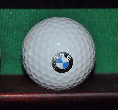 BMW Motors logo golf ball Titleist Pro V1 .