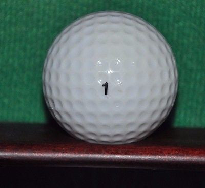 Vintage Neiman Marcus logo golf ball. Number 1