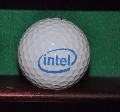 Intel logo Golf Ball. Nike