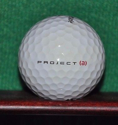Liberty Mutual Insurance Invitational logo golf ball. TaylorMade Project A