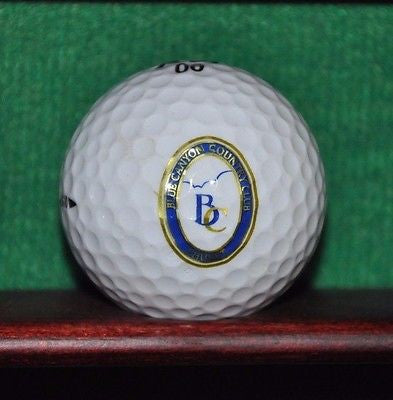 Blue Canyon Country Club Phuket Thailand logo golf ball. Excellent Condition