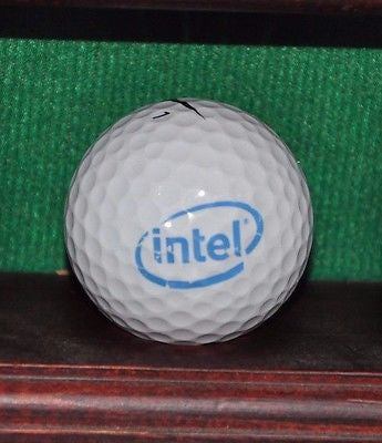 Intel Corporation logo Golf Ball. Nike
