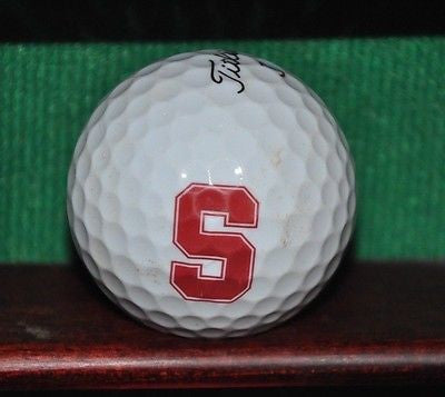 Stanford University Logo Golf Ball. Titleist