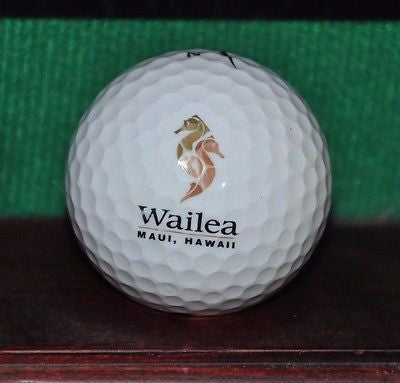 Wailea Golf Club Maui Hawaii logo golf ball. Nike.
