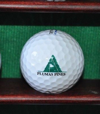 Plumas Pines Golf Club logo golf ball. Excellent Condition.