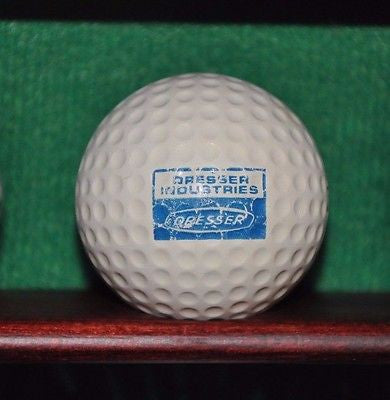 Vintage Dresser Industries Logo golf ball. MacGregor.