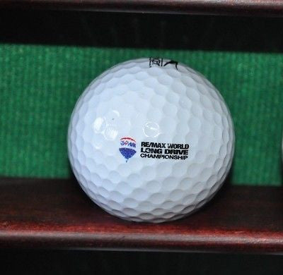 Remax World Long Drive Championship Competition ball. Slazenger.
