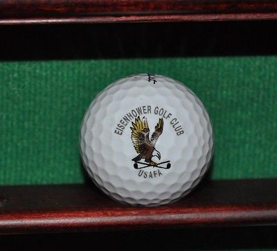 Eisenhower Golf Club USAFA logo golf ball. Titleist.