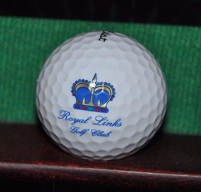 Royal Links Golf Club Las Vegas logo golf ball. Titleist Excellent Condition