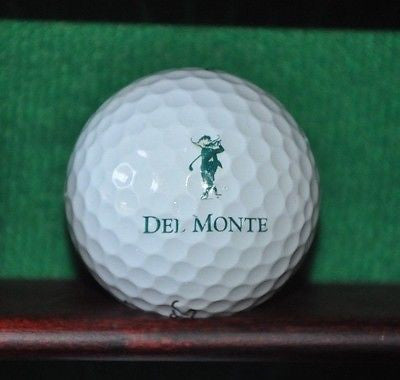 Del Monte Country Club at Pebble Beach logo golf ball. Titleist Pro V1