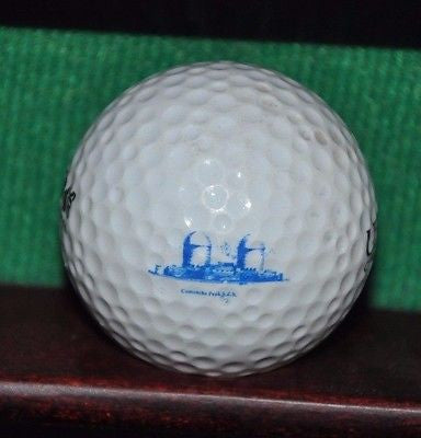 Comanche Peak Nuclear Power Plant logo golf ball.