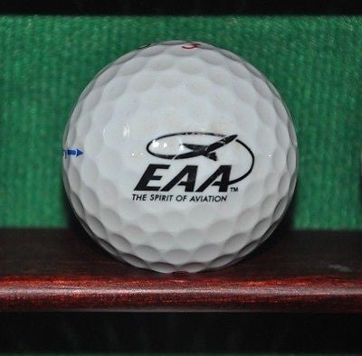 EAA Experimental Aircraft Association Spirit of Aviation golf ball Titleist