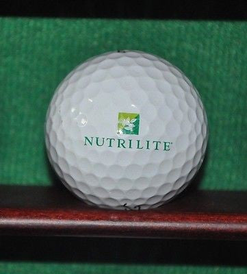 Nutrilite Vitamins by Amway logo golf ball. Titleist Pro V1