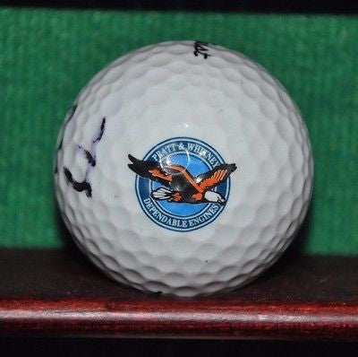 Pratt & Whitney Engines logo golf ball. Titleist.