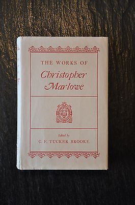 The Works of Christopher Marlowe (1910) by C.F. Tucker Brooke Hardcover Book