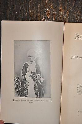 Re-Told Tales of the Hills and Shores of Maine by H G Rowe 1892 FE Gilted