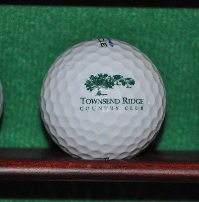 Townsend Ridge Country Club logo golf ball.