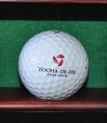 Yocha Dehe Golf Club at Cache Creek Logo Golf ball. Callaway.