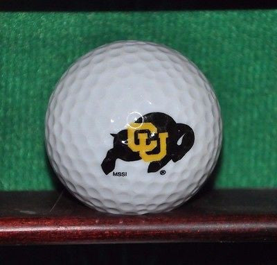 Colorado University Buffalo NCAA PAC 12 logo golf ball.