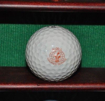 Global Courier Service Logo Golf Ball.
