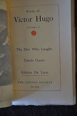 Antique Works of Victor Hugo . Edition de luxe 1908.